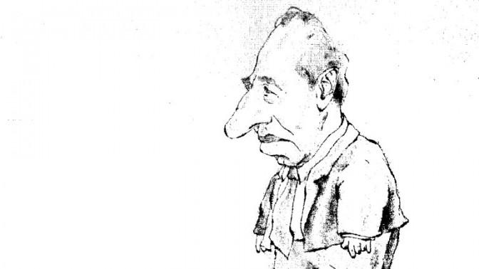 שמעון פרס (איור: צחי פרבר)