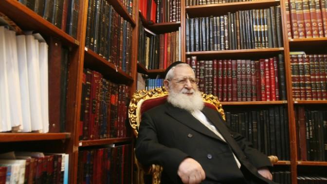 הרב עובדיה יוסף (צילום: פלאש 90)