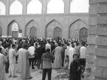 הרובע היהודי בבגדד (צילום: צבי בראל)