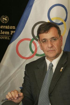 """אפרים זינגר, מנכ""""ל הוועד האולימפי  (צילום: פלאש 90)"""