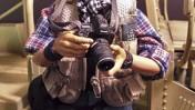 """""""עיתונאי מלחמה"""", גרסת הבובה (צילום: """"כרונו טויס"""")"""