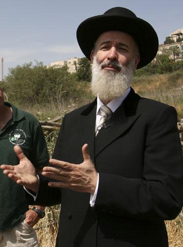 הרב הראשי יונה מצגר (צילום: פלאש 90)