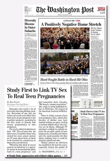 """שער ה""""וושינגטון פוסט"""" שלושה ימים לפני הבחירות בארצות-הברית"""