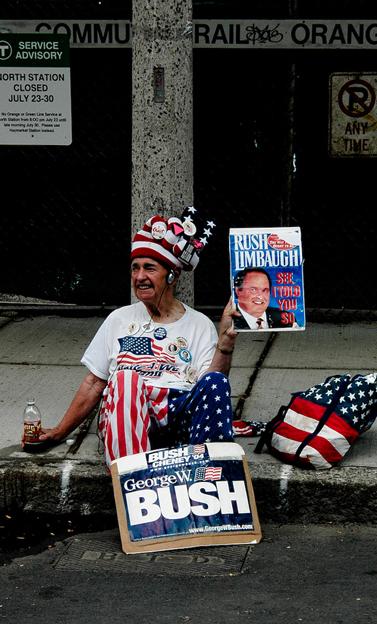 ועידת המפלגה הדמוקרטית, בוסטון 2004 (צילום: ג'ונתן פ' ברגר, רשיון CC)
