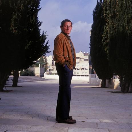 עמוס אילון (צילום: רלי אברהמי. לחצו להגדלה)