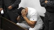 דניאל זנקו, שכנו של טופז ואחד החשודים בייזום תקיפתה של שירה מרגלית, היום בבית-המשפט (צילום: יוסי זליג)