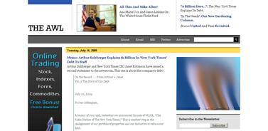 Memo- Arthur Sulzberger Explains $1 Billion In 'New York Times' Debt To Staff  The Awl
