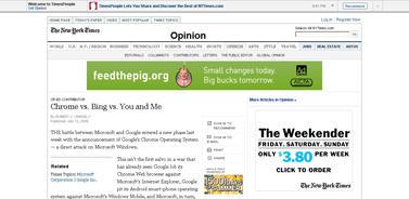 Op-Ed Contributor - Chrome vs. Bing vs. You and Me - NYTimes.com