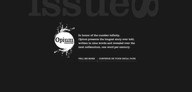 The Longest Story Ever Told  Opium Magazine