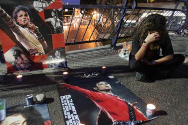 עצרת זיכרון למייקל ג'קסון. תל-אביב, 27 ביוני (צילום: רוני שוצר)