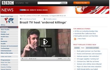 Brazil TV host