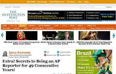 Dana Kennedy- Extra! Secrets to Being an AP Reporter for 49 Consecutive Years!