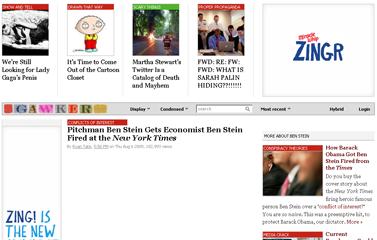 Pitchman Ben Stein Gets Economist Ben Stein Fired at the New York Times - Ben Stein - Gawker