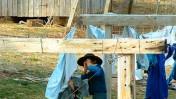 """ילדים בקהילת אמיש באינדיאנה, ארה""""ב (צילום: cindy47452, רישיון cc-by-nc-sa)"""
