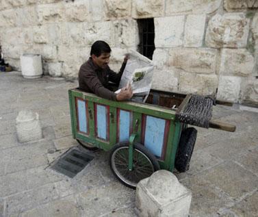 מזרח ירושלים, אפריל 2009 (צילום: אביר סולטן)