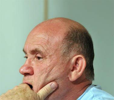 מוני פנאן. אוקטובר 2007 (צילום: יוסי זליגר)