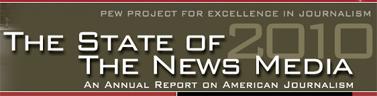 """(לוגו האתר """"מצב תעשיית החדשות 2010"""")"""
