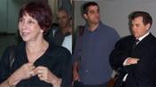 """משמאל: ליאורה גלט-ברקוביץ', ברוך קרא ועו""""ד זאב ליאונד, הבוקר בבית-המשפט (צילום: """"העין השביעית"""")"""