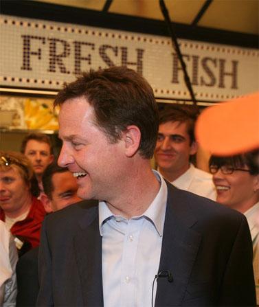 """ניק קלג, מנהיג הליברלים-דמוקרטים (צילום: יח""""צ)"""