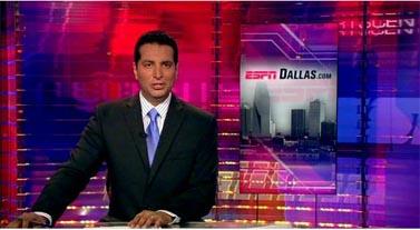 אולפן חדשות הספורט ב-ESPN (צילום מסך)