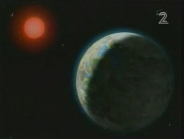 """""""איזשהו כוכב חדש"""" (צילום מסך מתוך מהדורת החדשות של ערוץ 2)"""
