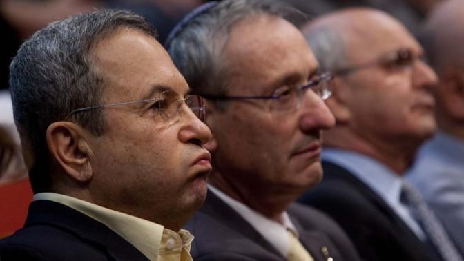 שר הביטחון אהוד ברק. 2.11.10 (צילום: דוד ועקנין)