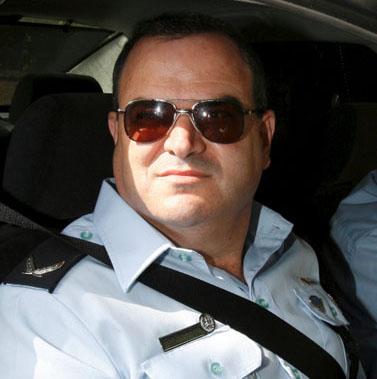 קצין המשטרה שלומי איילון (צילום: ליאור מזרחי)