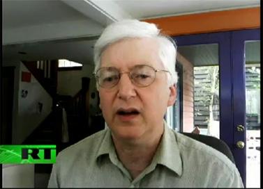 ריצ'רד סילברסטיין. 9.6.10 (צילום מסך: RT America)