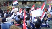 הפגנה במצרים, שלשום (צילום: Muhammad Ghafari, רשיון cc-by 2.0)