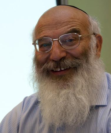 טוביה לוסקין, הגיאולוג הראשי של גבעות-עולם (צילום: דוד ועקנין)