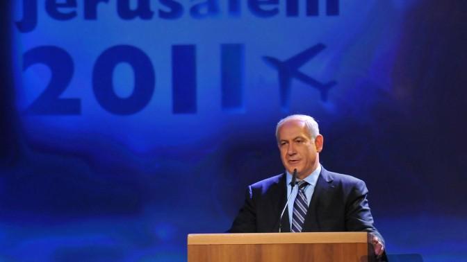 בנימין נתניהו, ראש ממשלת ישראל, אמש בירושלים (צילום: יואב ארי דודקביץ')