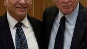 היועץ המשפטי לממשלה יהודה וינשטיין (מימין) ושר המשפטים יעקב נאמן. ירושלים, 24.2.10 (צילום: דוד ועקנין)