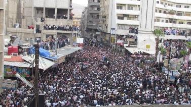 הפגנה בסוריה, לפני כשבועיים (צילום: syriana2011, רשיון CC BY 2.0)
