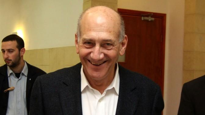 אהוד אולמרט, לשעבר ראש ממשלת ישראל, 17.2.11 (צילום: אורן נחשון)