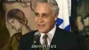 """מתוך התוכנית """"עובדה"""" על פרשת הנשיא לשעבר משה קצב (צילום מסך)"""