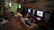 אינטרנט קפה בשועפאט, 2008 (צילום ארכיון)