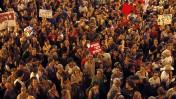 הפגנה בירושלים, אתמול (צילום: ליאור מזרחי)