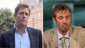 פול מקמלן ויו גרנט, עימות ב-BBC (צילום מסך)