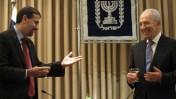 השגריר האמריקאי הנכנס, דן שפירו, נפגש עם הנשיא שמעון פרס. 3.8.11 (צילום: אורן נחשון)