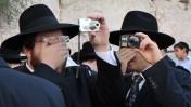 """טקס """"ברכת כוהנים"""", אתמול בכותל המערבי בירושלים (צילום: יואב ארי דודקביץ')"""