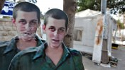 פירוק מאהל המחאה לשחרורו של גלעד שליט, אתמול בירושלים (צילום: יואב ארי דודקביץ')