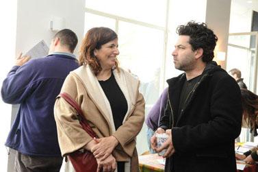 ירון טן-ברינק וריקי כהן (צילום: תמר מצפי)