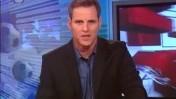 בוני גינצבורג במהדורת החדשות של השעה 19:00 בערוץ הראשון (צילום מסך)