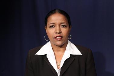 צגה מלקו, המנהלת היוצאת של רשת א' של קול-ישראל (צילום: דוברות רשות השידור)