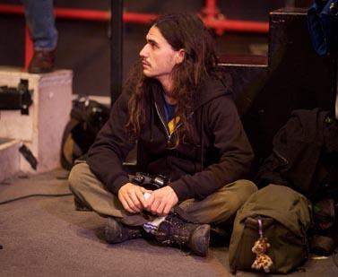 אורן זיו, בכנס למען תקשורת חופשית בסינמטק תל-אביב, נובמבר 2011 (צילום: מתניה טאוסיג)