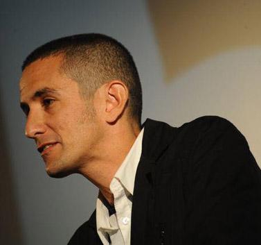 אורי משגב בכנס היסוד של ארגון העיתונאים בישראל,  20.1.12 (צילום: תמר מצפי)