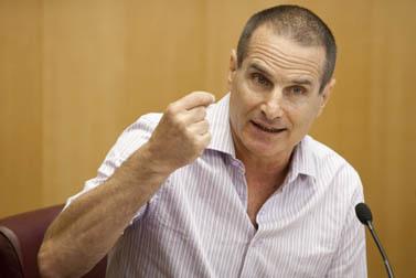 יון פדר, העורך הראשי של ynet (צילום: דוד ועקנין)