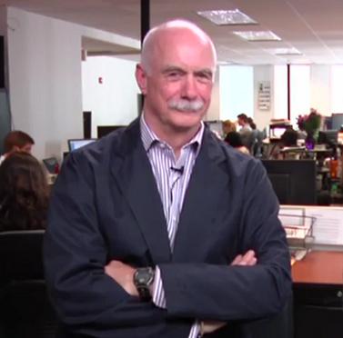 """דייוויד ווד, עיתונאי ה""""הפינגטון פוסט"""" זוכה פרס הפוליצר (צילום מסך)"""