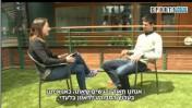 מאיה רונן מראיינת את נובאק ג'וקוביץ' בערוץ הספורט
