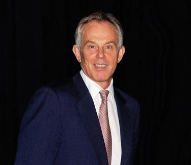 """ראש ממשלת בריטניה לשעבר, טוני בלייר. פילדלפיה, אפריל 2012 (צילום: המועצה לענייני חוץ של פילדלפיה, רשיון cc-by, עיבוד: """"העין השביעית"""")"""